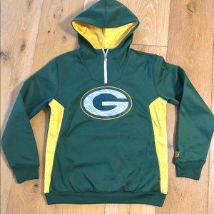 Green Bay Packers NFL team apparel hoodie 14/16 Y